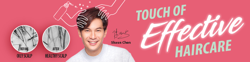 Beijing 101 Shaun Chen 陈泓宇 Touch of Effective Haircare
